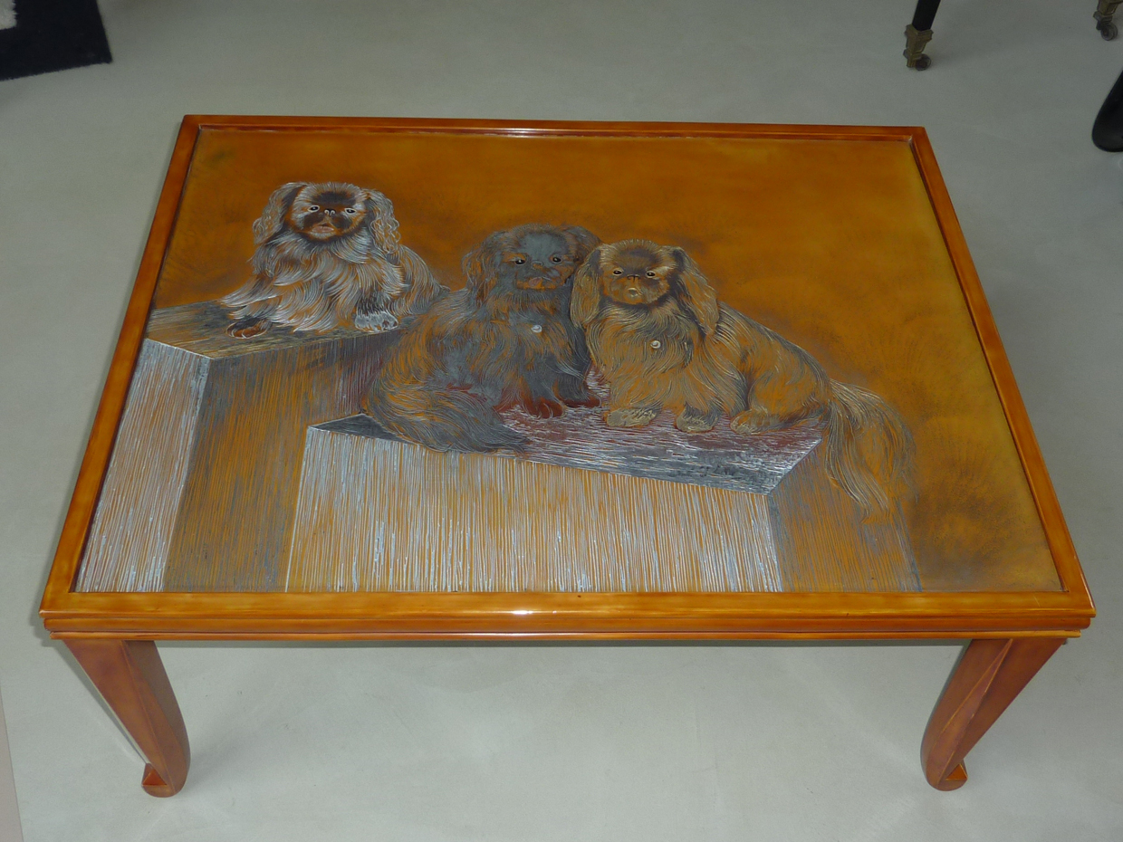 Table basse Art Déco 1928 - DUNAND