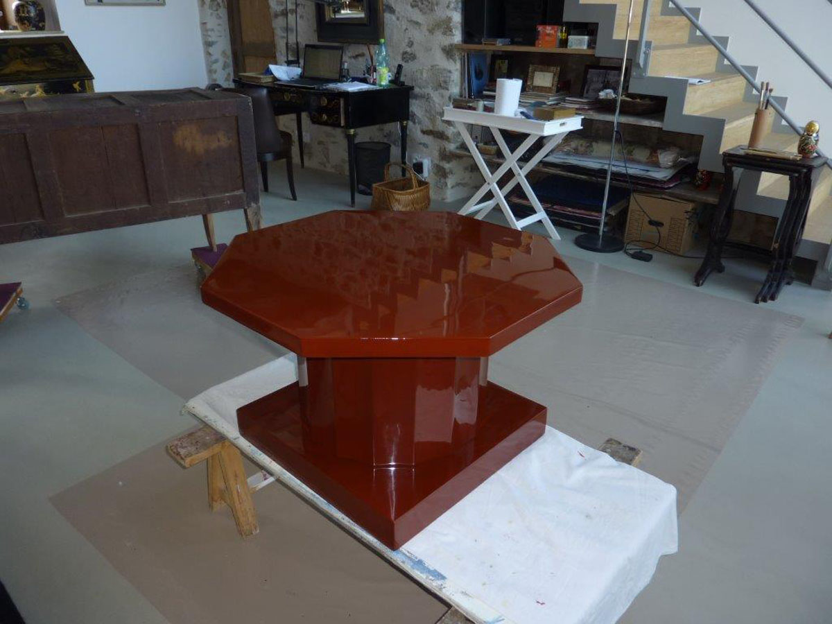 Table basse Art Déco 1925 - DUNAND